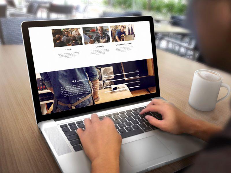 Web UI design Rahgozar Creative Studio 3 800x600 - مشاور ارتباطات رهگذر